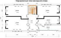 Дом 6 Х 12 план мансардного этажа